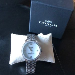 Coach Women's Delaney Mother of Pearl Watch